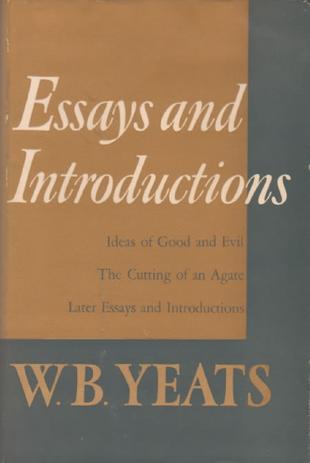 Critical essays on yeats